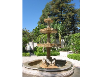 Spanish fountain.