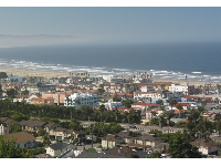Pismo Town, as seen from Boosinger Park.