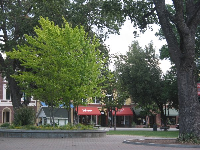 View of 12th Street, from City Park.