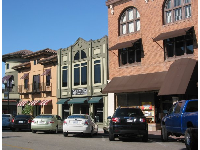 Historical architecture on Park St.