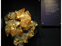Calcite, in the gem exhibit.