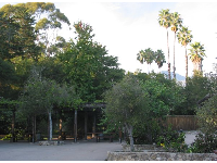 Montecito has such wonderful trees everywhere! See the shaded picnic area.