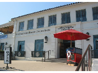 The Maritime Museum, at gorgeous Santa Barbara Harbor.