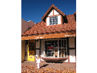 Solvang is a very colorful place even in winter.
