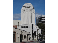 The beautiful Forever 21 building.