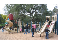 Playground at Oak Meadow Park.