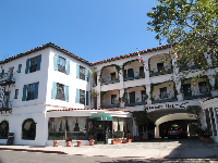 Montecito Inn on Coast Village Rd.