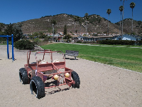The dune buggy.