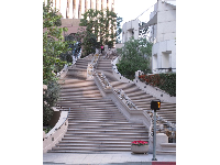 LA's Spanish Steps on 5th Street near Grand Ave.
