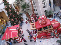 Christmas at Pacific View Mall.