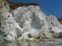 I LOVE these white cliffs!