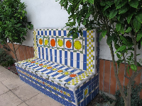 Fruity bench- love this one!