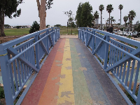 Rainbow bridge.