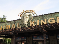 Entrance to Animal Kingdom.