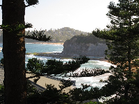 Bilgola Beach from The Serpentine.