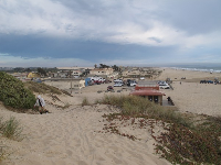 The town of Oceano, as seen from the top of a dune!