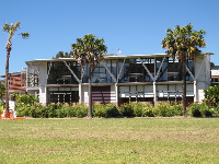 Public library and community center, on Old Barrenjoey Rd.