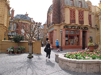 France, in Epcot.