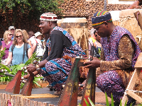 Musicians in the Africa area.