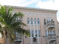 There are plenty of exquisite details in the architecture on Ocean Drive.
