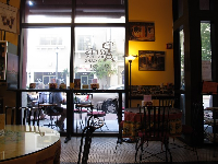 I love the interior of Paris Bakery and Cafe.