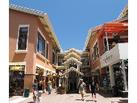 The shops.