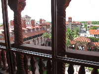 View from the newly-renovated top floor of Ponce de Leon Hall.