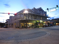 The historic main strip of DeLand, just blocks from campus on Woodlawn Blvd.