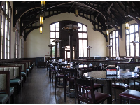 Suwannee Dining Hall, straight out of Harry Potter!