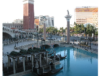 The Venetian Resort, as seen from The Strip.