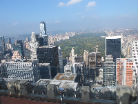 View of Central Park, Cityspire Center, and 9 W.57th Street.