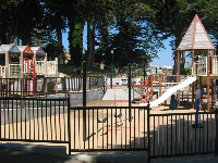 The playground at Alamo Square.