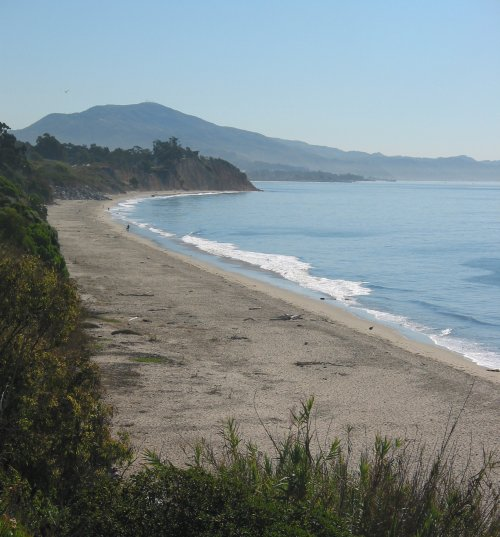 Summerland Beach and Lookout Park, Santa Barbara California