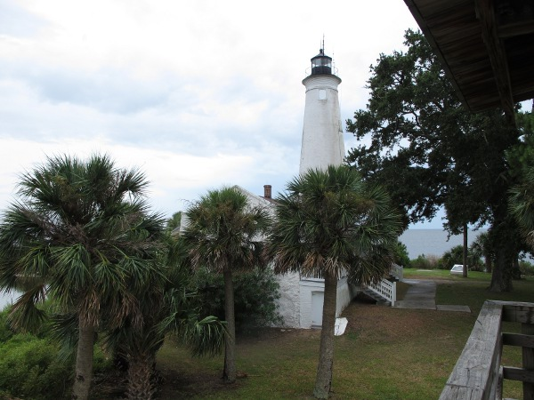 St. Marks Lighthouse, near Tallahassee, North Florida FL