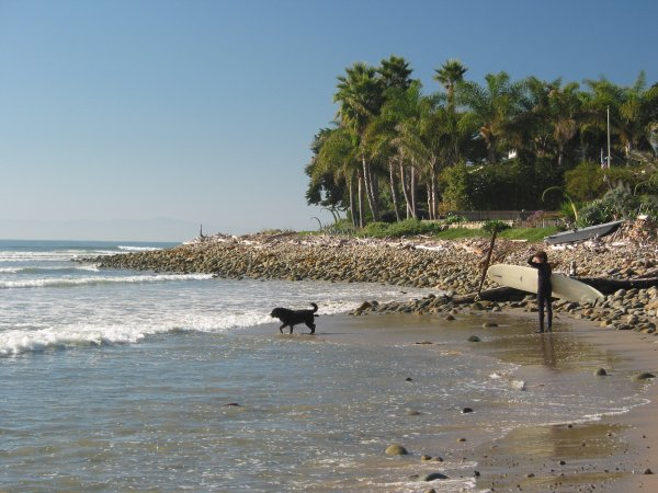 Rincon Surf Break, Santa Barbara California