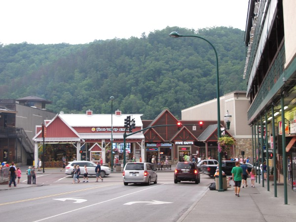 Gatlinburg town, Tennessee TN