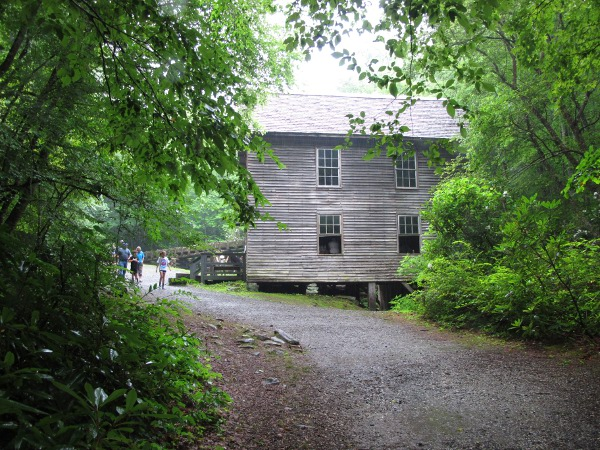 Mingus Mill, Great Smoky Mtns, Tennessee TN