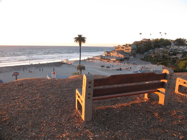 Moonlight State Beach, Encinitas, San Diego California