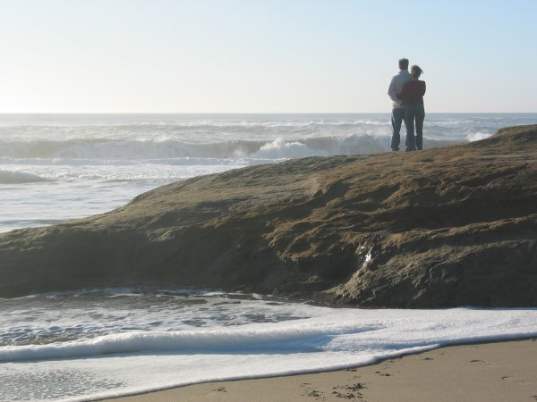 Pomponio Beach, San Francisco California