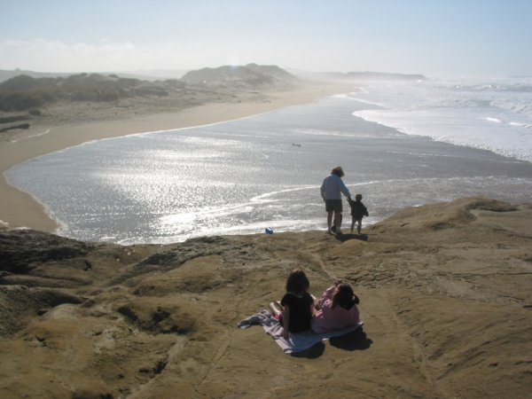 Pescadero State Beach, San Francisco California