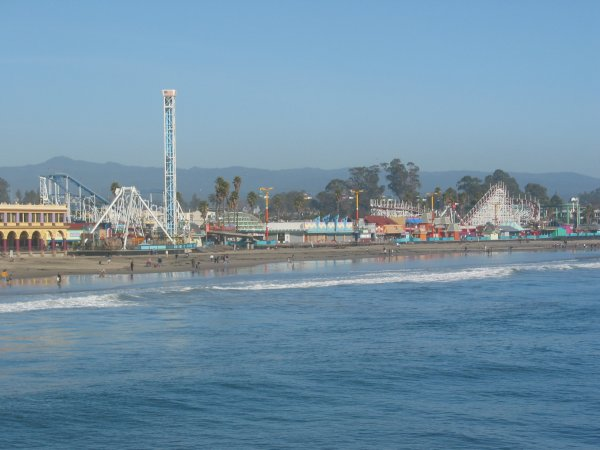 Santa Cruz Pier, San Francisco California