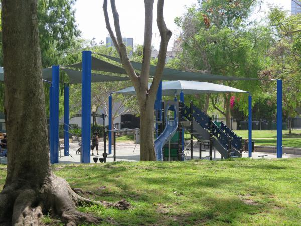 Roxbury Park playground, Beverly Hills, Los Angeles California