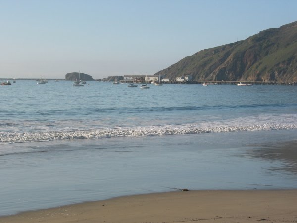Port San Luis Beach, San Luis Obispo California