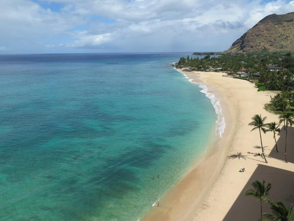 Hawaiian Princess Beach, Makaha, Oahu Hawaii