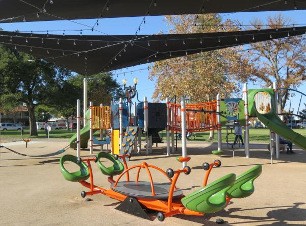 Downtown City Park Playground, Paso Robles, San Luis Obispo California