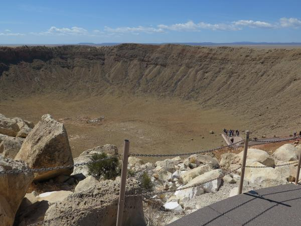 Meteor Crater Natural Landmark, Arizona