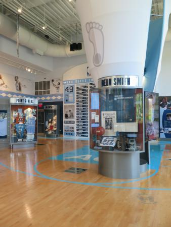 Carolina Basketball Museum, UNC Chapel Hill, North Carolina NC