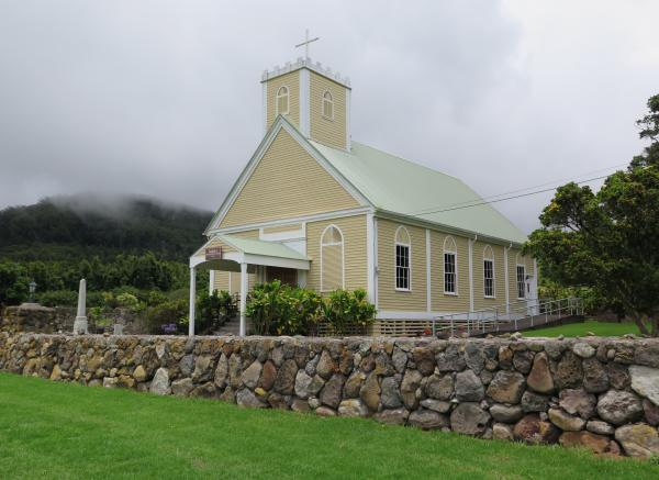 Imiola and Keola Mauloa Church, Waimea, The Big Island Hawaii