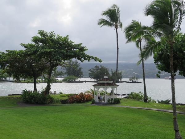 Grand Naniloa Hotel and Banyan Drive Cafes, Hilo, The Big Island Hawaii