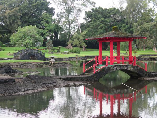 Lilioukalani Gardens, Hilo, The Big Island Hawaii